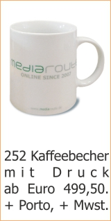 Werbeartikel-Kaffeebecher
