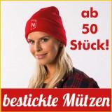 M�tzen-Beanies-Werbeartikel