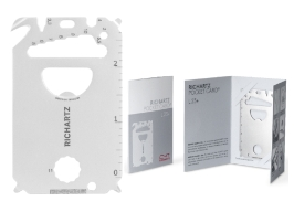 Werbeartikel  Key Pocket-Card 23+ von Richartz