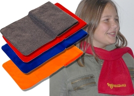 Werbeartikel  Promotion-Fleece-Schal