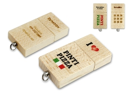 Werbeartikel  USB-Sticks Eco Wood