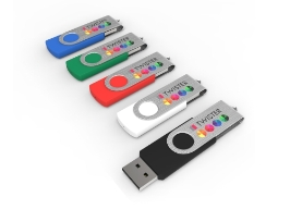 Werbeartikel  USB Stick Twister